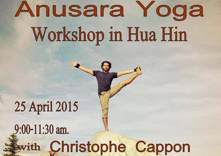 Anusara Yoga Workshop Shakti Yoga Hua Hin