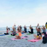 Yoga on the beach 25.01.2020