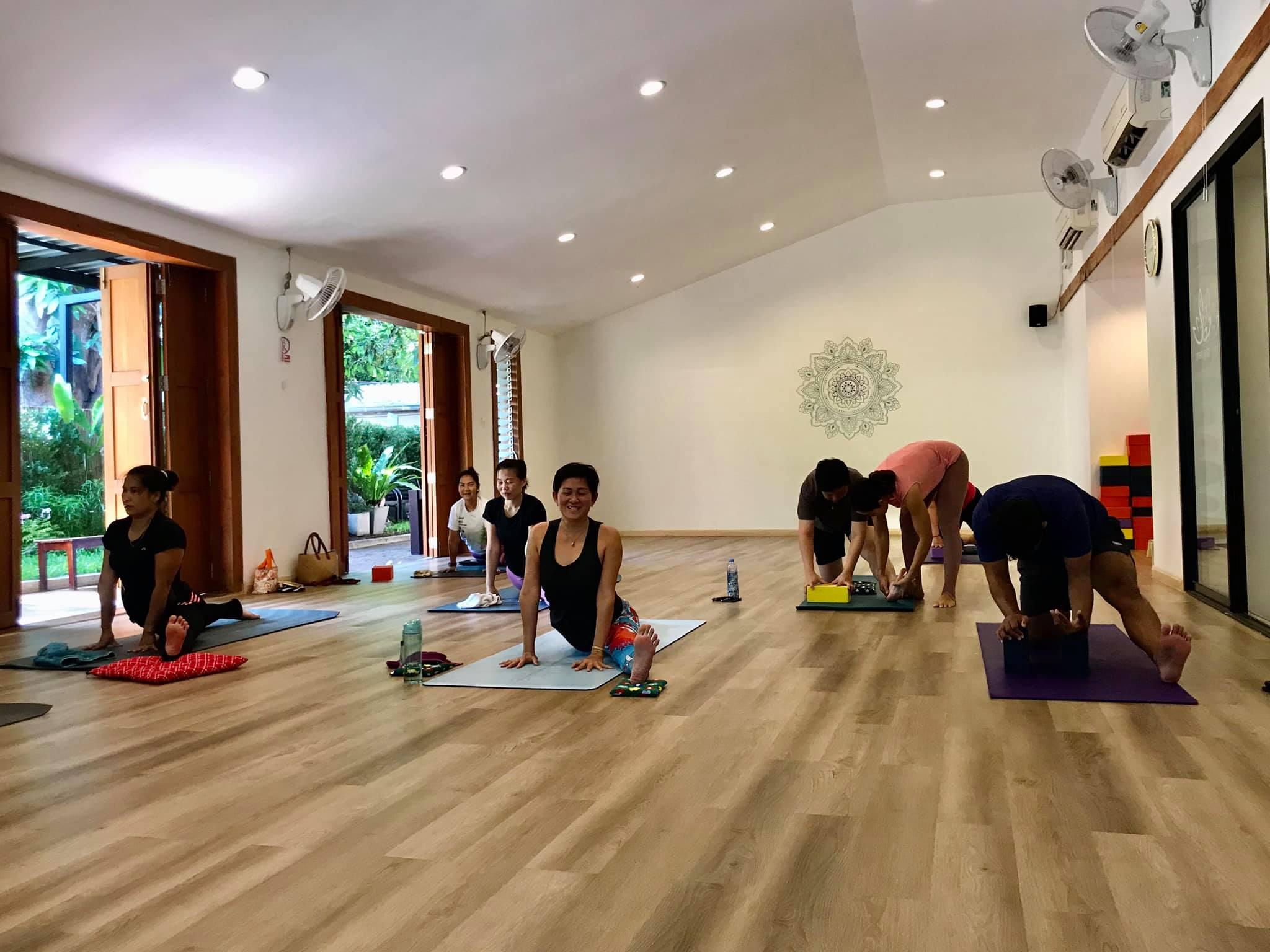 Hip Opener class with Kru Tae